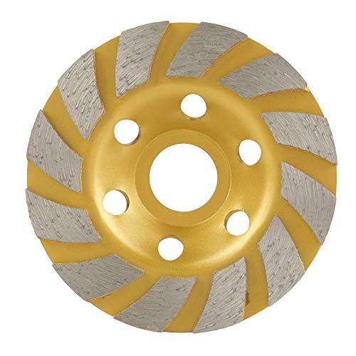 Disco de Muela Abrasiva de Segmento de Diamante de 100 mm * 4,5 mm 6 Orificios para Accesorios de Piedra de Mármol Concreto