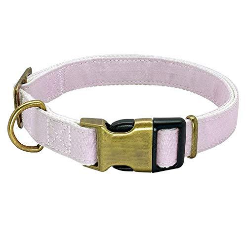 CttiuliCwxq Collar de Perro Personalizado de Nylon Grande Perros de Perrito Collares Grabado de Medio Grande Pitbull Mascotas (Color : 2)