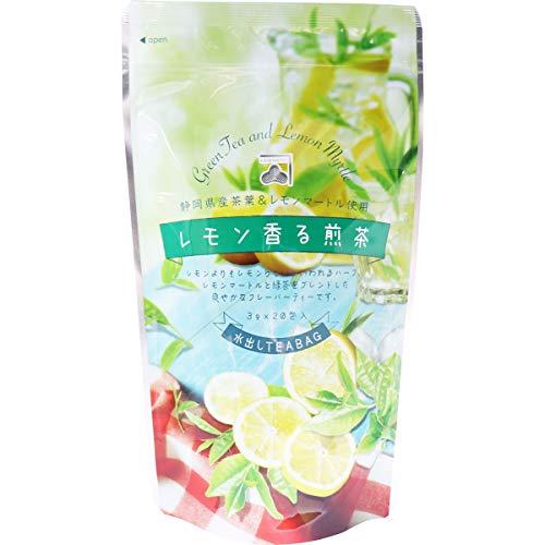 カネ松製茶『レモン香る煎茶 水出しティーバッグ』