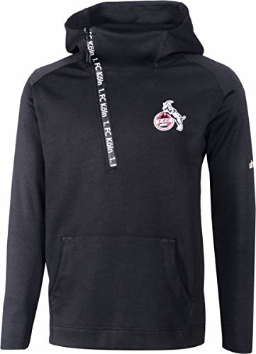 uhlsport Kinder 1.Fc Köln Essentielle Pro Hoodie Sweatshirt, schwarz, 152