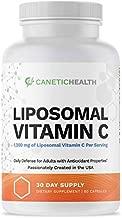 Liposomal Vitamin C Supplement 1200mg Capsules Best Vitamin C Made in USA High Dose High Potency Raw VIT C Compare to Gel Liquid Vitamin C 1000mg   Anti Aging, Anti Inflammatory Pharmaceutical Grade
