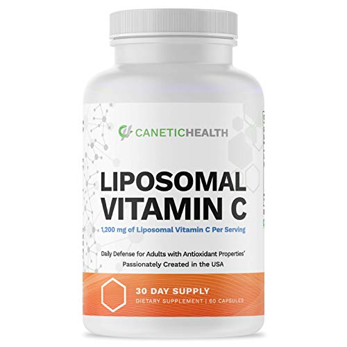 Liposomal Vitamin C Supplement 1200mg Capsules...