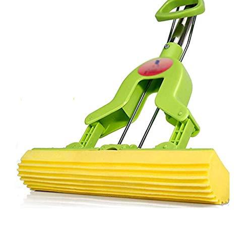 XYZMDJ vloerwisser voor het drogen en bewaren van de reinigingsoplossing van vloeren, spons voor zelfreiniging, Lazy Mop