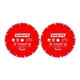 Diablo 12-Inch x 60-Tooth Comb Combination Saw Blade with 1-Inch Arbor (2-Pack)