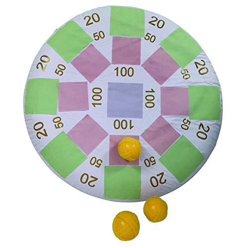 Traditional Garden Games- Palla Bersaglio, Colore Pastello, 50/5 cm, 126