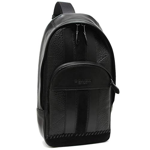 [コーチ]ボディバッグ アウトレット メンズ COACH F49333 QBBK ブラック [並行輸入品]