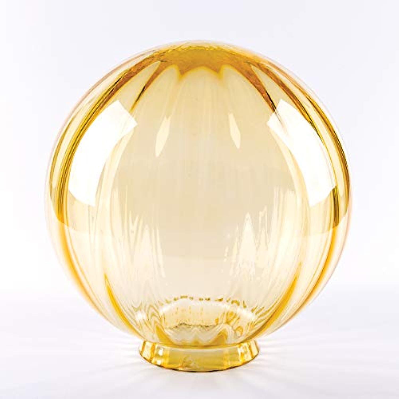 Glas Ersatzglas Kugelglas Auenleuchte  200mm Griffrand Kragenrand 80mm optisch (Gold)