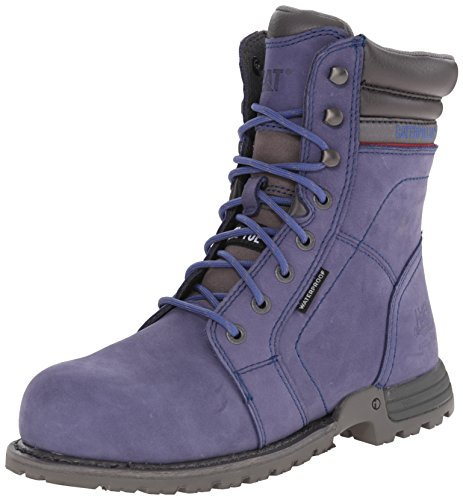 Caterpillar Womens Echo Waterproof Steel Toe Work Boot, Marlin, 6.5 M US