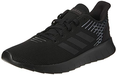 adidas Men Running Shoes Asweerun Trainers Black Training Workout Gym (EU 45 1/3 - UK 10.5 - US 11)