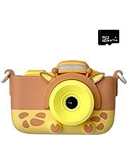 子供用 デジタルカメラ トイカメラ 2000万画素 2インチ キッズカメラ 16G容量SDカード 日本語説明書付き