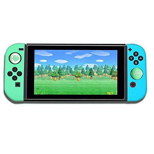 Elyco Funda Protectora para Nintendo Switch, Silicone Grip Case Protector Case Funda Protectora Grip Funda de Agarre Compatible con Switch JoyCon Controller