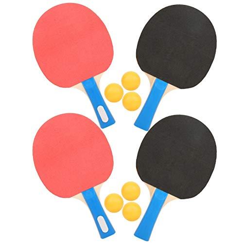 Pelotas de Tenis de Mesa Juego de Tenis de Mesa portátil para Estudiantes Ping Pong Bates Pelotas Accesorios para Deportes Fitness