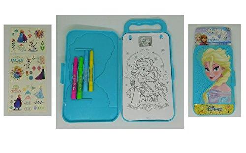 Kit coloriage + autocollant Frozen Disney - La Reine des Neiges - 345