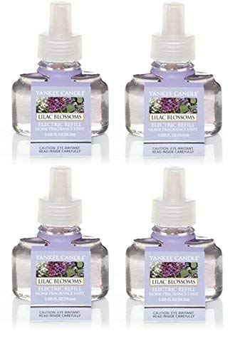 Yankee Candle Lilac Blossom ScentPlug Refill 4-Pack