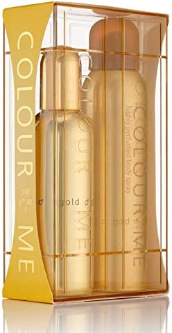 Colour Me Gold Homme - Fragrance for Men - 150ml Body Spray, by Milton-Lloyd