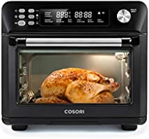 COSORI 12-in-1 Air Fryer Toaster Combo Countertop Dehydrator for Chicken, Pizza and Cookies, Recipes & Accessories...