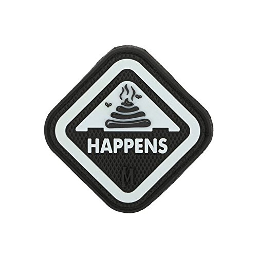Maxpedition Gear It Happens Patch, Swat, 2 x 2-Inch