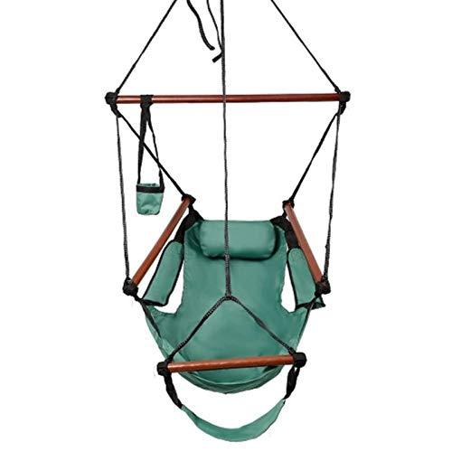 CCLIN Hängematte Hängesessel Air Deluxe Sky Swing Outdoor Chair-GreenR