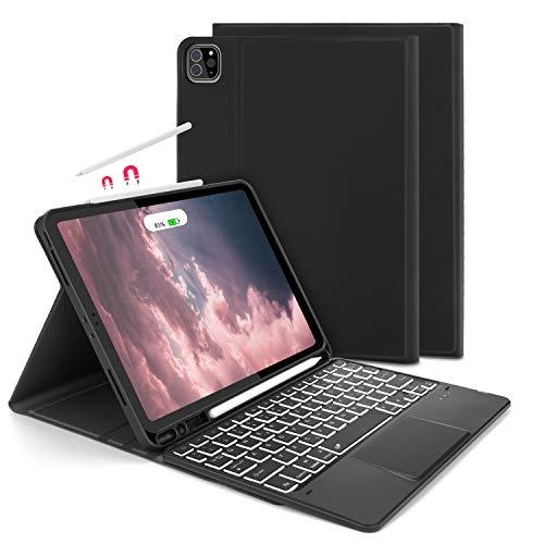 Jelly Comb Beleuchtete Tastatur Hülle mit Touchpad für iPad iPad Pro 11