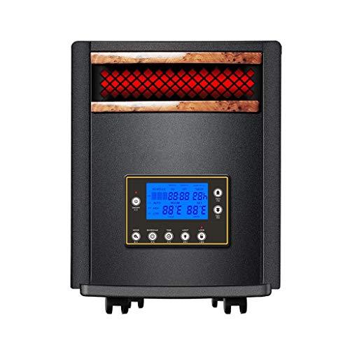 ZYING 1500W PTC Keramikheizung mit digitalem Thermostat, schnell heizbare tragbare Turmheizung mit 8H-Timer, oszillierende LED-Anzeige für elektrische Heizung