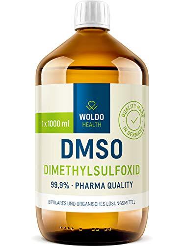 DMSO 99,9% pharmazeutischer Reinheit Dimethylsulfoxid - 1.000ml vielseitig einsetzbares Naturprodukt