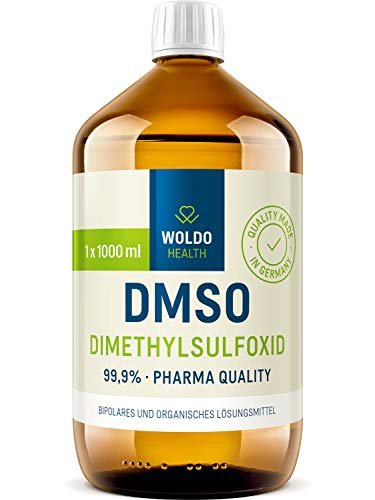 DMSO Pharma Qualität 1000ml - 99,9% Dimethylsulfoxid