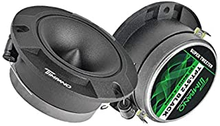 $24 » Timpano TPT-ST2 Black 4″ Super Tweeter Car Audio - Black Titanium Loud Tweeter 4 Ohms (Pair)