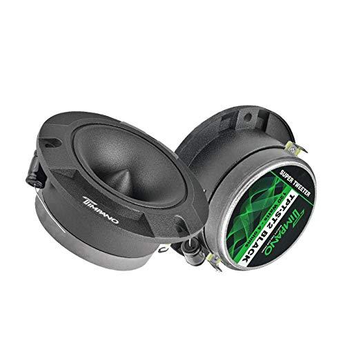 Timpano TPT-ST2 Black 4″ Super Tweeter Car Audio - Black Titanium Loud Tweeter 4 Ohms (Pair)
