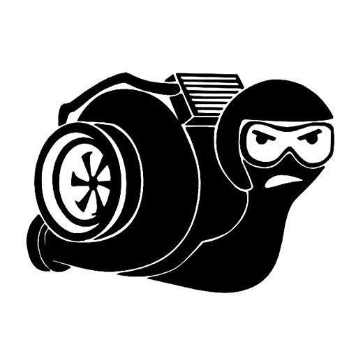 RUIRUI Mode Vinyl Motorrad Auto Aufkleber Schwarz 14Cm * 10Cm