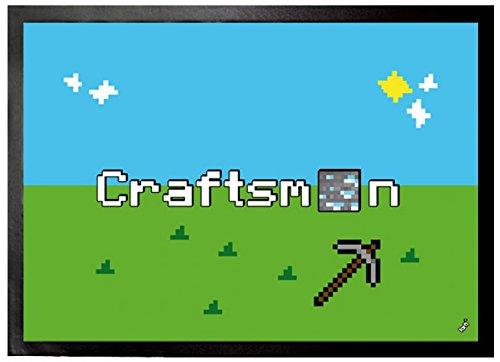 1art1 Gaming - Craftsman Felpudo Alfombra (70 x 50cm)