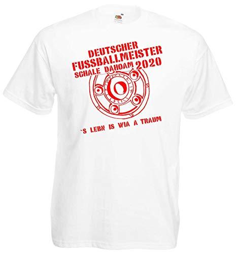 München Herren Meister Schale Dahoam 2020 Ultras Fan T-Shirt