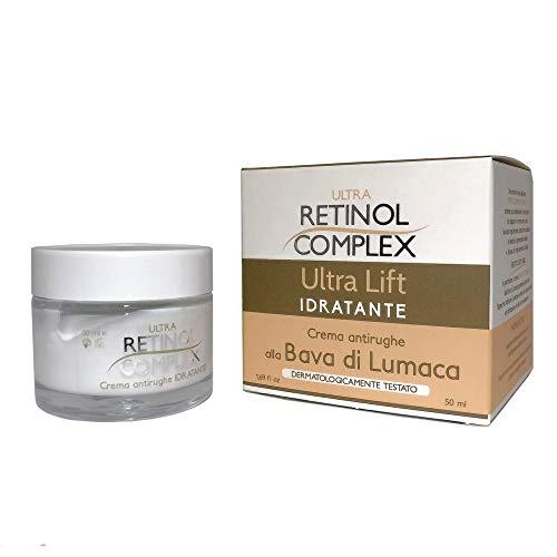 Ultra Retinol Complex Ultra lift Crema facial antiarrugas con baba de Caracol, Crema anti-arrugas Ultra lift Hidratante – 50 ml