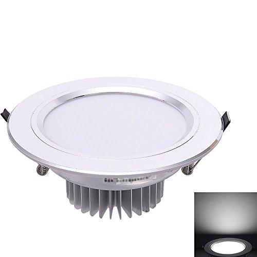 Verlight Foco de Techo LED Empotrado Foco empotrable Foco empotrable LED Panel de Instrumentos Lámpara Redonda Ahorro de energía Focos Simples Lámpara ecológica antideslumbrante
