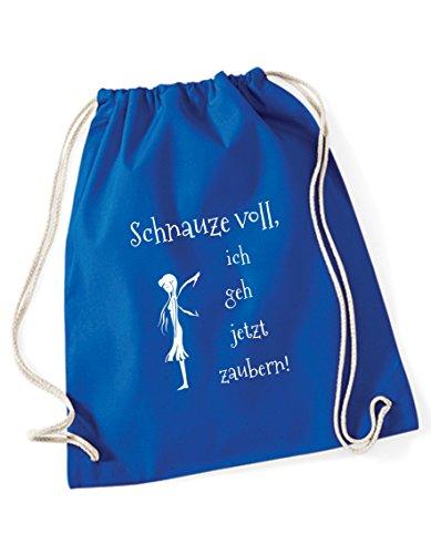 Turnbeutel Schnauze voll ich GEH jetzt Zaubern Bedruckt/Rucksack/Sportbeutel/Gymsack/Gymbag mit witzigen...