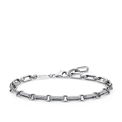 Thomas Sabo Damen Herren-Armband Rebel at heart 925 Sterling Silber Länge 20 cm A1791-637-21-L20v