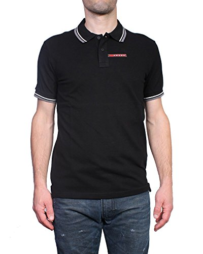 Photo of Prada Polo M/C Shirt Short Sleeve ModelPIQUER Men's (2XL, Grey)