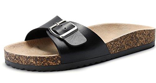 Sandalup - Sandalias ajustables de corcho para hombre y mujer, color, talla 38 EU