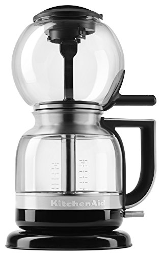 KitchenAid KCM0812OB Siphon Coffee Brewer, Onyx Black, 2.3