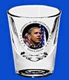 Barack Obama 44th President Collectible Shot Glass-In Stock, Ships Now!