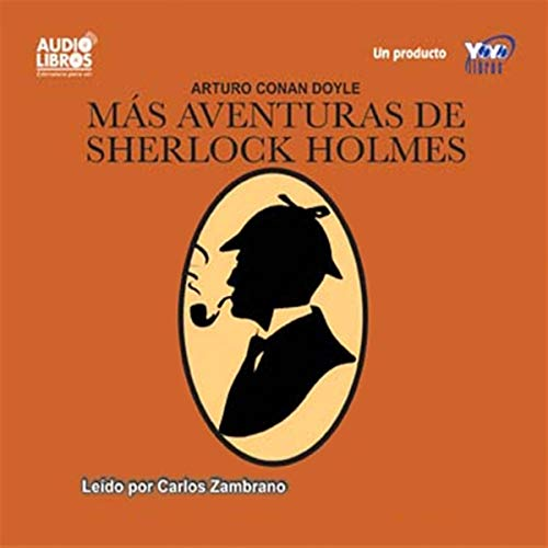 Mas Aventuras de Sherlock Holmes [More Adventures of Sherlock Holmes] audiobook cover art
