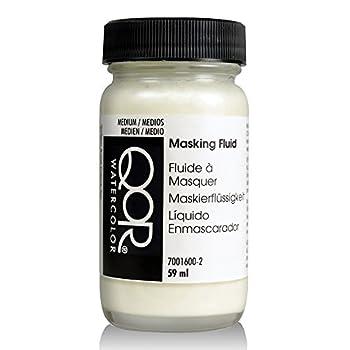 Golden QoR Watercolor Masking Fluid 2 Ounce Bottle  7001600-2  White