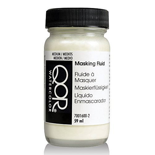 Golden QoR Watercolor Masking Fluid, 2 Ounce Bottle (7001600-2) White