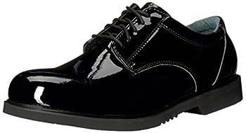 Thorogood Men s 831-6031 Uniform Classics - Poromeric Oxford Shoe Black - 9 M US