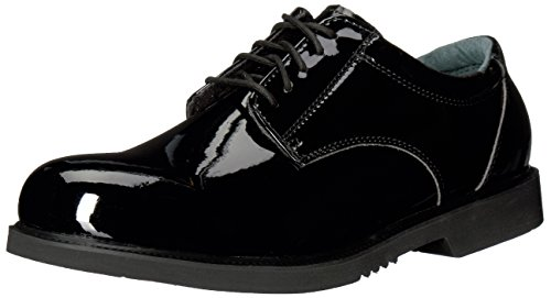 Thorogood 831-6031 Men's Uniform Classics - Poromeric Oxford Shoe, Black - 10.5 D(M) US