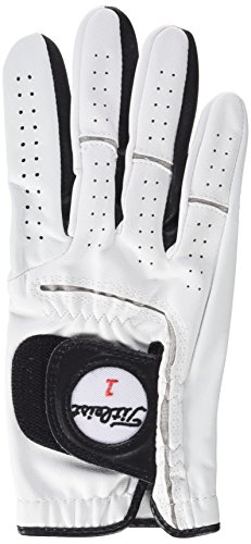 TITLEIST Players-Flex Gant, Homme M Blanc