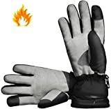 Aroma Season® | Beheizbare Handschuhe mit Akku | Warme beheizte Hände den ganzen Tag beim Skifahren, Snowboarden, Wandern, Angeln | hohe Heiz- und Akkuleistung | hochwertige Verarbeitung
