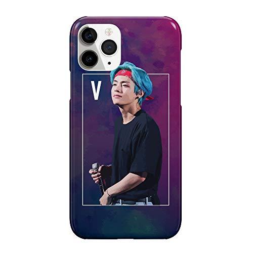 Korean V Kpop BTS_MRZ5483 Funda protectora de plástico duro para teléfono...