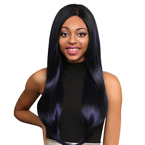 The Stylist Synthetic Lace Front Wig Swiss Lace Silk Top Swiss Goddess (OTBURG)