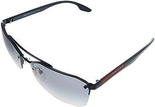 Prada - Gafas de Sol Linea Rossa LINEA ROSSA SPS 54V Black/Grey Shaded 63/15/140 hombre