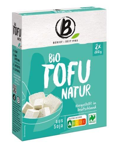 Berief Natur Tofu aus Soja Made in Deutschland 2 x 200 g